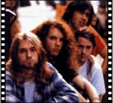 NIRVANA in their early days: say 'hi' to Kurdt Kobain, Jason Everman, Chad Channing and Chris Novoselic
